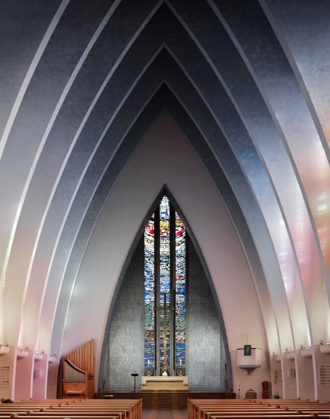 Kirche am Hohenzollernplatz | Berlin | Fritz Hoger | 1933 © Fabrice Fouillet