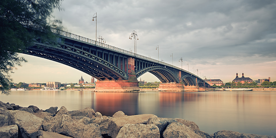 Theodor-Heuss-Brücke © Stefan Weber