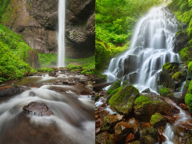 Latourell, Fairy Falls © Michael Breitung