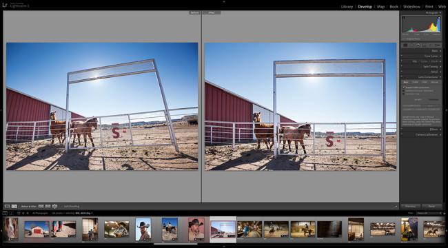 Adobe Lightroom 5 - Screenshot