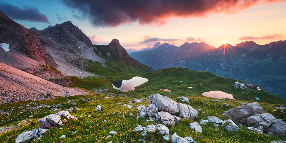Alpine Sunset © Michael Breitung