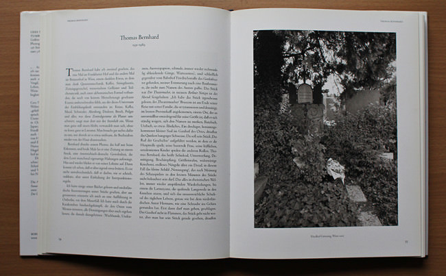 Thomas Bernhard © Simone Sassen / Cees Nooteboom