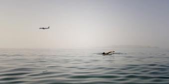 Flugzeug, Meer, Schwimmen, Fliegen, Urlaub, Antonis Damolis, Wasser