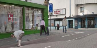 London, Street, Straße, Leute, Alltäglich, Composite, Menschen, Chris Dorley-Brown, filmisch, zufällig, England, UK,