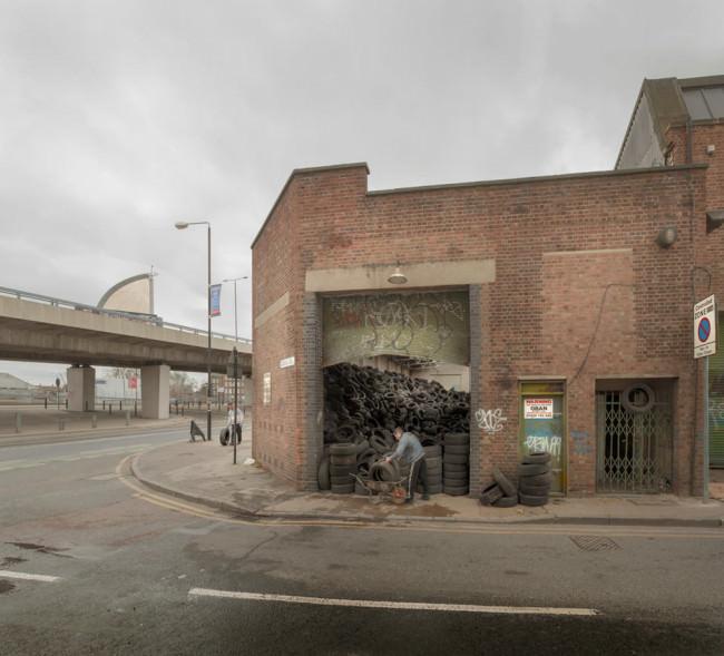 Tyre dump (2009) © Chris Dorley-Brown