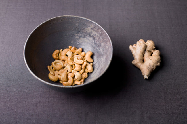 Cashew & Ingwer © Marcel Pommer