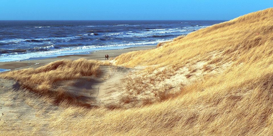 See, Stürmisch, Paar, Liebespaar, Liebe, Zusammensein, Sonne, Strand, Wasser, Meer,