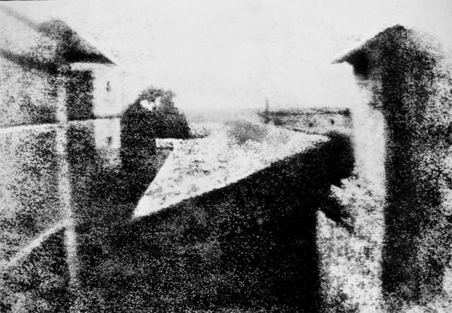 ©  Joseph Nicéphore Niépce, 1826