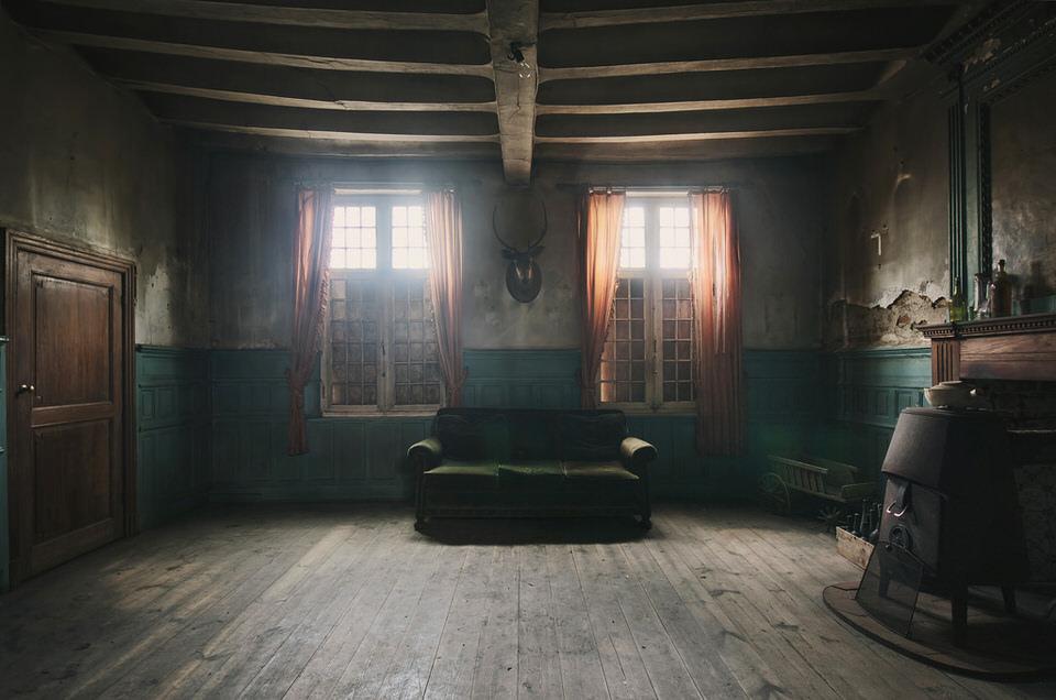 Lodge, HDR, Raum