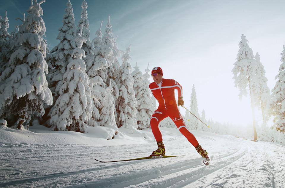 Schnee, Langlauf, Winter