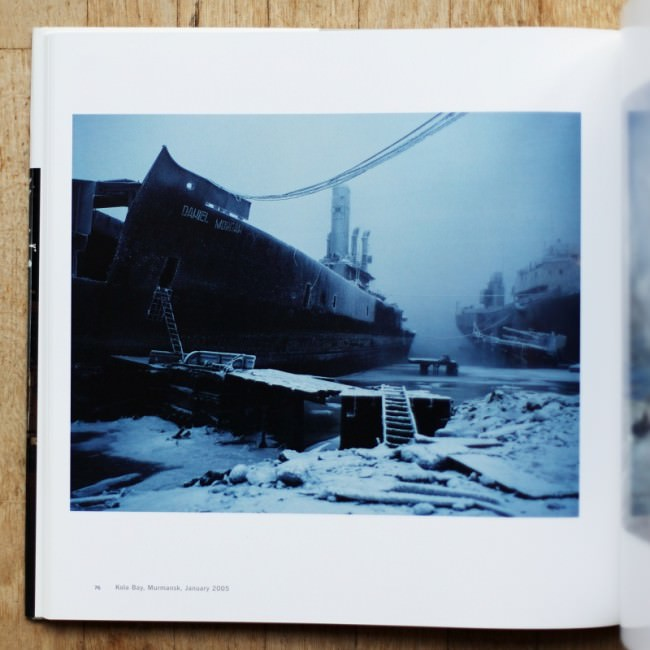 Abandoned warship, Kola Bay, Murmansk, 2005 © Simon Roberts in XL Photography 3