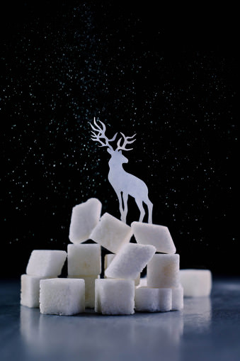 Reindeer (Powdered sugar) © Dina Belenko