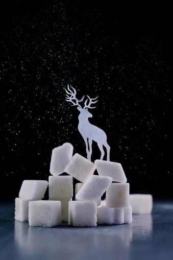 Reindeer (Powdered sugar) © Dina Belenko