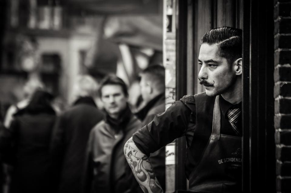 Schumacher, Mustache, Street