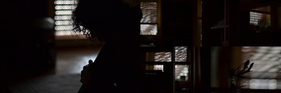 Bokeh, Locken, Hintergrund, dunkel