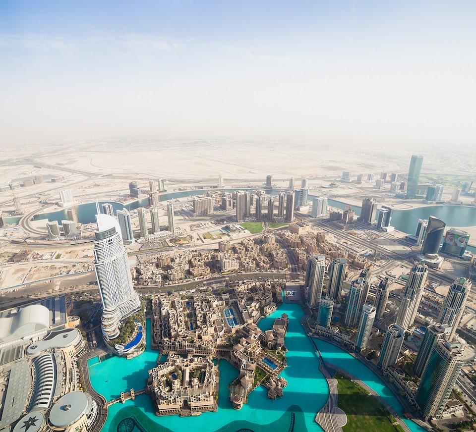 Dubai, Oben, Weitwinkel
