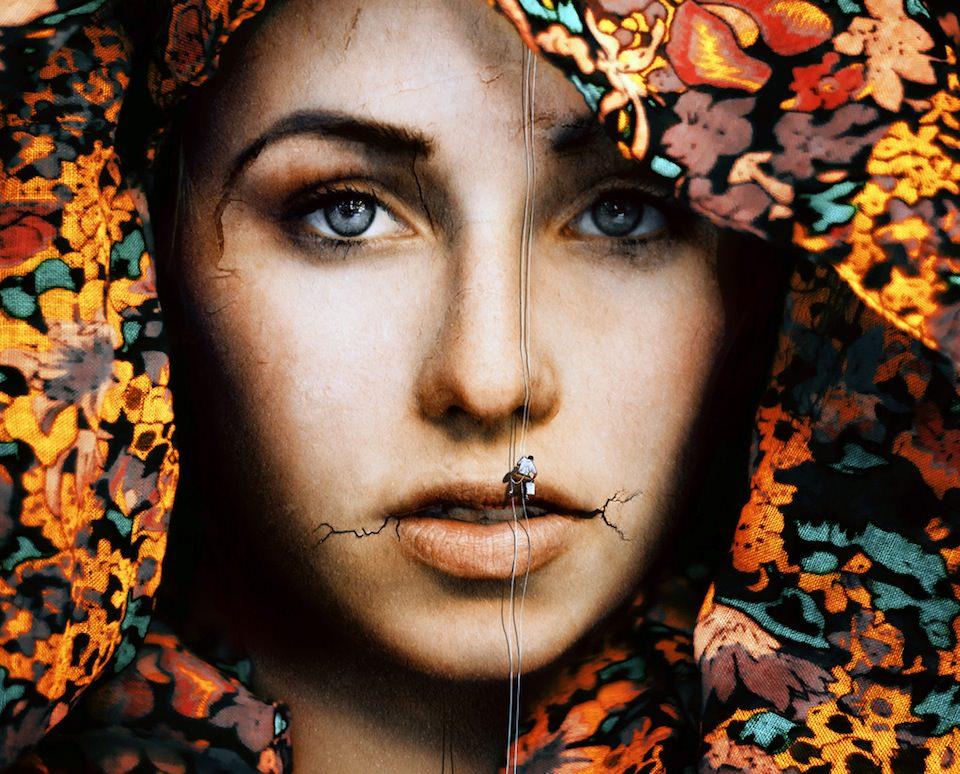Portrait, Surreal, Augen, Laura Zalenga