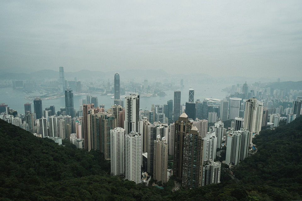 Hong Kong from the Peak © Roger