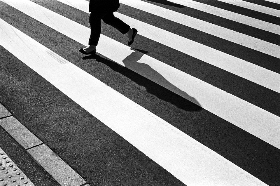 zebrastreifen, laufen, fuesse, beine
