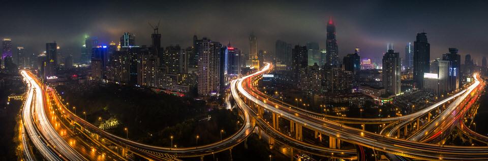 Shanghai, Regen, Verregnet, Langzeitbelichtung, Andy Aydt