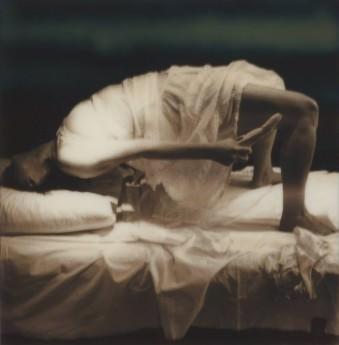 Hysteria, Hysterical Paroxysm - A crack through which evil departs the soul © Carmen De Vos