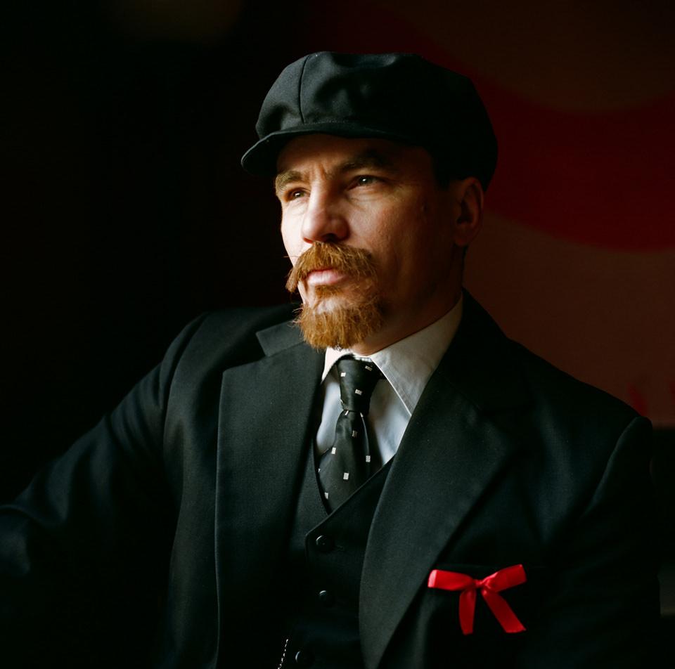Mann mit Bart und Mütze