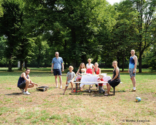 Familie Ostkreuz © 2014 Birthe Templin