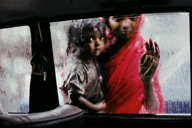 Bettlerin, Bombay, Indien, 1993.  © Steve McCurry / Magnum Photos