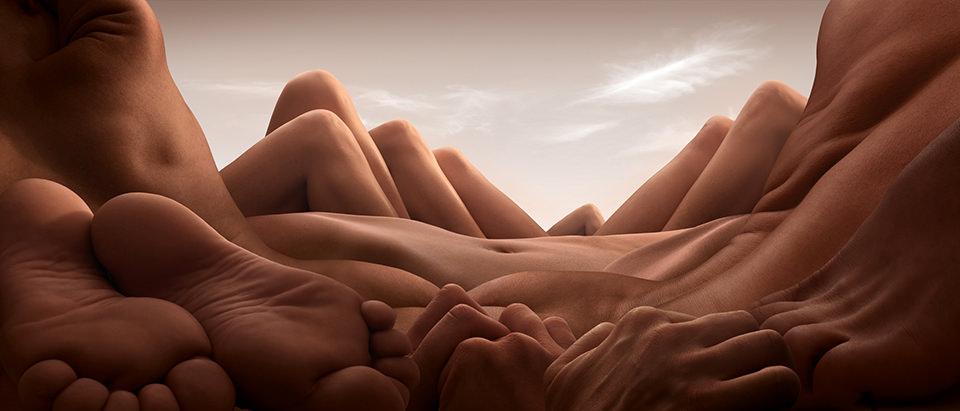 Shin Knee Valley © Carl Warner