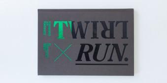 Das Buch von Jeff Mermelstein - Twirl/Run. Von.
