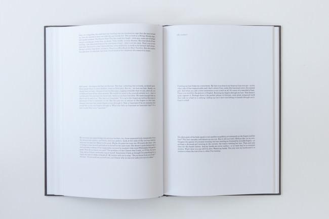 Der Essay des Buches Twirl/Run von Jeff Mermelstein.
