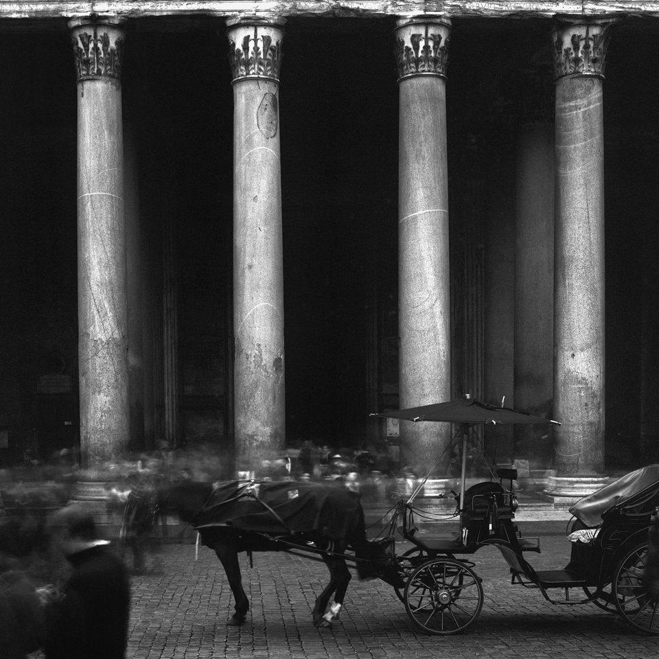 Blick auf das Pantheon in Rom.