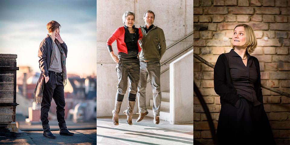 Petra Mattheis und Sascha Nau porträtieren Menschen mit Eigeninitiative.
