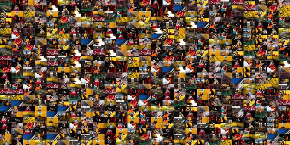 Eine Collage verschiendster Aufnahmen von Martin Gommel