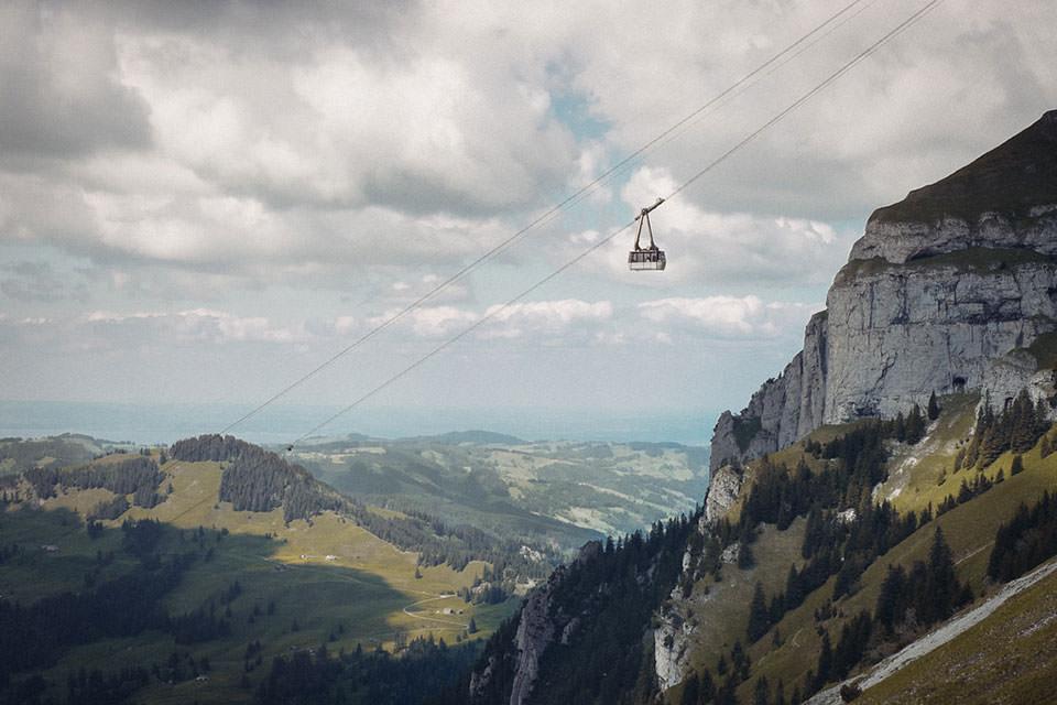 Hoher Kasten aerial tramway © P!XELTREE