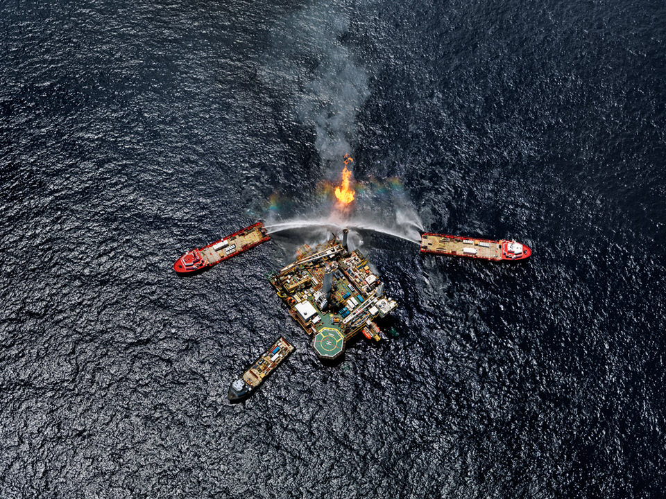 Oil Spill #5 | Q4000 Drilling Platform, Gulf of Mexico, June 24, 2010