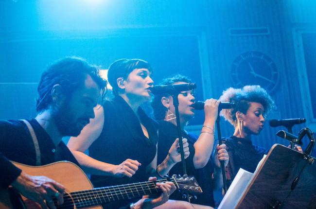 Die Band mit Gitarren