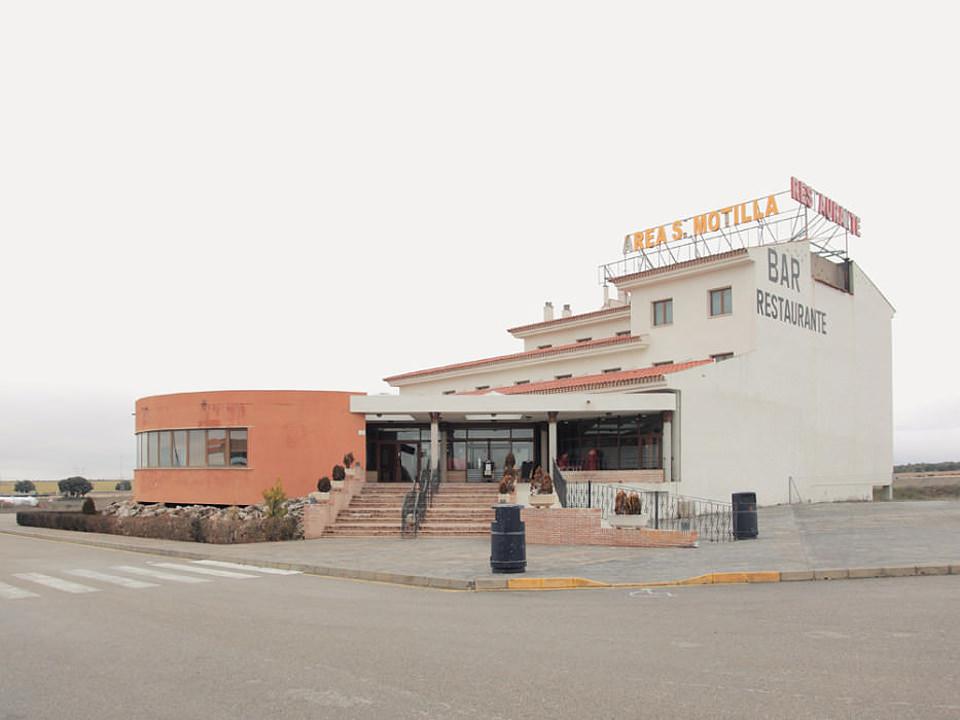 Ein Autobahn-Restaurant.