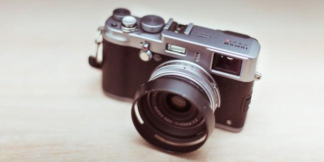 Eine Kamera von oben