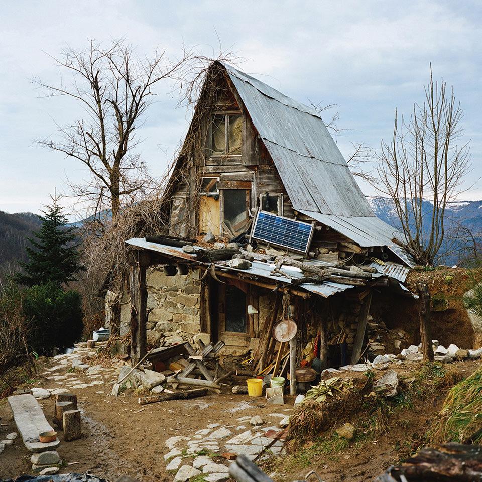 Selbstgebautes Haus