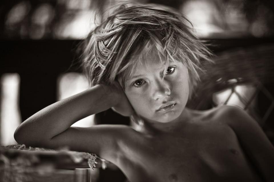 Kinderportrait.