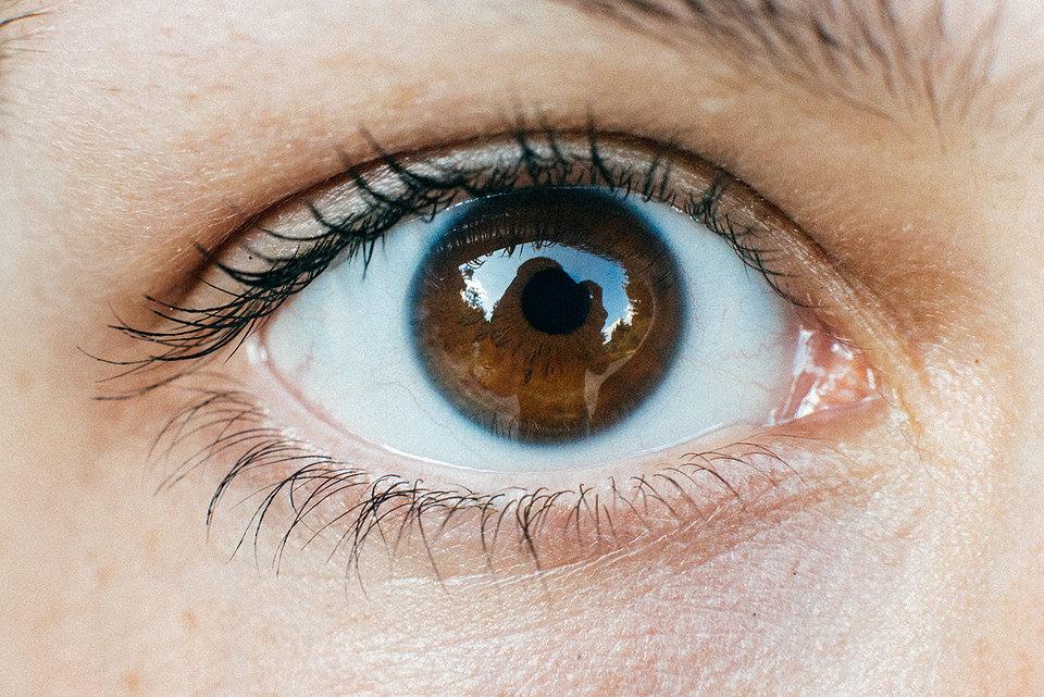 Nahaufname eines Auges
