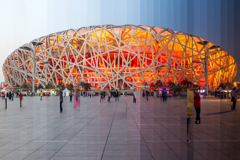 Nationalstadion in Peking