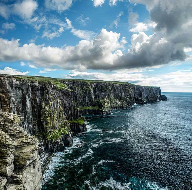 Steilküsten in Irland