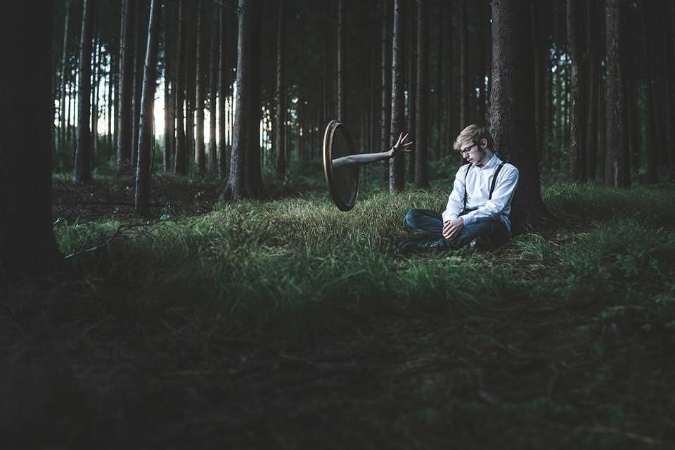 Ein surreales Waldportrait