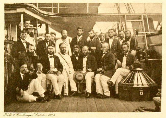 Gruppenbild der Challenger Crew