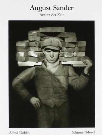 Buchcover: August Sander, Antlitz der Zeit