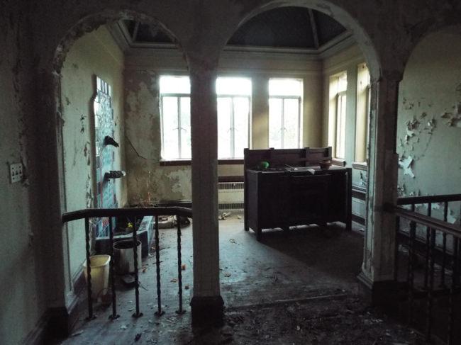 Ein verlassenes Haus