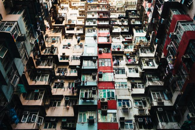 Ansicht eines Wohnhauses