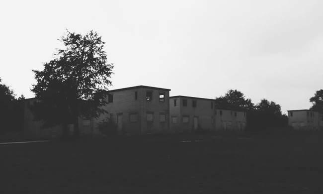 Alte Übungsgebäude für das Militär
